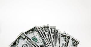 Het geld van de euro en van de dollar royalty-vrije stock foto's