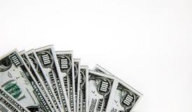 Het geld van de euro en van de dollar royalty-vrije stock foto