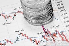 Het Geld van de markt royalty-vrije stock afbeeldingen