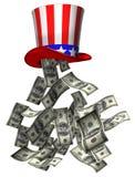 Het geld van de overheid Stock Fotografie
