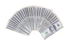Het geld van de V.S. Stock Fotografie