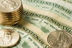 Het geld van de V.S. royalty-vrije stock foto's