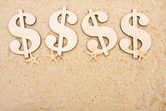 Het Geld van de vakantie Royalty-vrije Stock Afbeelding