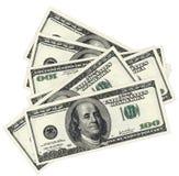 Het geld van dollars Stock Afbeelding