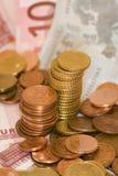 Het geld van Europa Stock Afbeeldingen