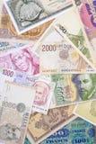 Het Geld van Europa Stock Foto
