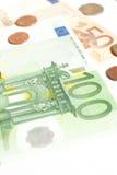Het geld van Europa Stock Foto's