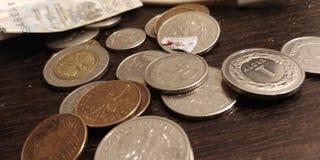 Het geld van het geldgeld Stock Afbeelding