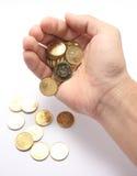 Het geld van het afval Stock Foto's