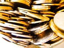 Het geld van het muntstuk Royalty-vrije Stock Afbeeldingen
