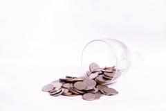 Het Geld van het muntstuk Stock Foto's