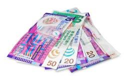 Het geld van Hongkong Stock Afbeeldingen