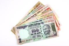 Het geld van India Royalty-vrije Stock Afbeeldingen