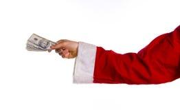 Het geld van Kerstmis Royalty-vrije Stock Afbeelding