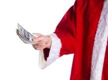 Het Geld van Kerstmis Stock Afbeelding