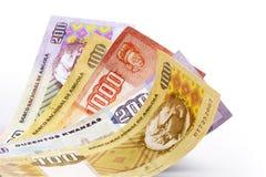 Het geld van kwanza Stock Afbeeldingen