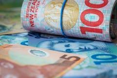 Het Geld van Nieuw Zeeland stock foto