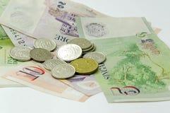 Het geld van Singapore Stock Afbeeldingen