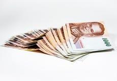 Het geld zet op stock foto