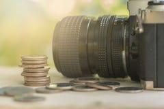 Het geldconcept van de besparing Stock Afbeelding