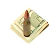 Het geldprijs van de oorlog Stock Afbeeldingen