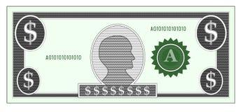 Het geldrekening van de dollar royalty-vrije illustratie