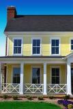 Het gele Huis van de Kabeljauw van de Kaap in de Lente Royalty-vrije Stock Afbeelding
