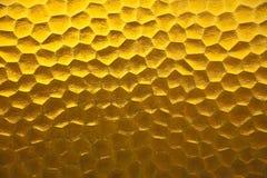 Het gele ontwerp van de patroon abstracte textuur. Royalty-vrije Stock Foto