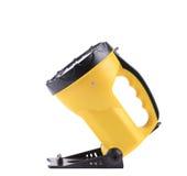 Het gele plastic flitslicht van het zakhandvat Stock Fotografie