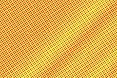 Het gele rood stippelde halftone Diagonale gestippelde gradiënt Halftintachtergrond vector illustratie