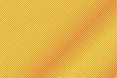 Het gele rood stippelde halftone Diagonale subtiele gestippelde gradiënt Halftintachtergrond vector illustratie