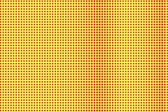 Het gele rood stippelde halftone Geweven verticale gestippelde gradiënt Halftintachtergrond vector illustratie