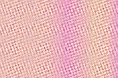 Het gele roze stippelde halftone Vlotte frequente gestippelde gradiënt Halftintachtergrond royalty-vrije illustratie