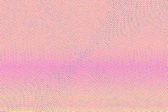 Het gele roze stippelde halftone Vlotte subtiele gestippelde gradiënt Halftintachtergrond vector illustratie