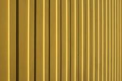 Het gele verticale houten opruimen Royalty-vrije Stock Afbeelding