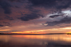 Het gelijk maken bij Gippsland-meren Royalty-vrije Stock Afbeelding