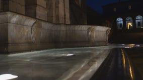 Het gelijk maken bij het Capitoline-Heuvelvierkant stock videobeelden