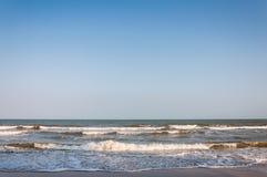 Het gelijk maken bij het strand royalty-vrije stock foto's