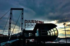 Het gelijk maken in Darling Harbour royalty-vrije stock foto