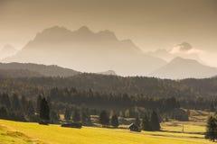 Het gelijk maken in de Alpen Stock Afbeeldingen