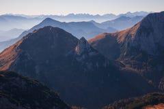 Het gelijk maken in de bergen Royalty-vrije Stock Foto's