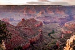 Het gelijk maken in Grand Canyon royalty-vrije stock afbeelding