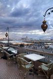 Het gelijk maken in Marrakech Stock Afbeeldingen