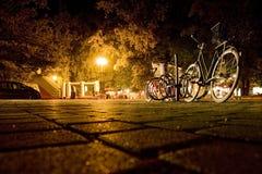 Het gelijk maken met fiets Stock Afbeeldingen