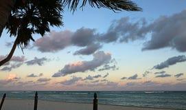 Het gelijk maken op Caraïbische Zee Royalty-vrije Stock Foto's
