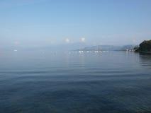 Het gelijk maken op de kust van het meer Garda Royalty-vrije Stock Afbeelding
