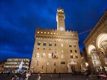 Het gelijk maken in Palazzo Vecchio in Florence royalty-vrije stock afbeelding