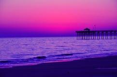 Het gelijk maken van beachfront mening Stock Fotografie