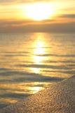 Het gelijk maken van magische zon Stock Fotografie