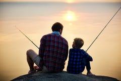 Het gelijk maken van visserij royalty-vrije stock foto's